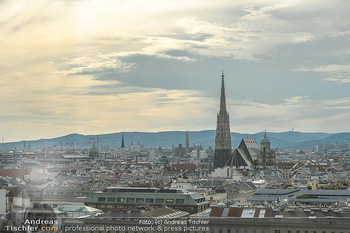 Urban Decay - Born to Run - Hilton Vienna Hotel - Do 05.07.2018 - Blick über WIEN, Panorama, Stephansdom, 1. Bezirk, Sonnenunterg9