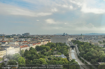 Urban Decay - Born to Run - Hilton Vienna Hotel - Do 05.07.2018 - Blick über WIEN, Panorama, Stadtpark, Kanal, Hotel Intercontine10