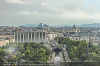 Urban Decay - Born to Run - Hilton Vienna Hotel - Do 05.07.2018 - Blick über WIEN, Panorama, Stadtpark, Kanal, Hotel Intercontine11