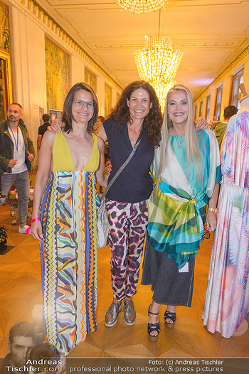 Fashion CheckIn - Wiener Staatsoper - So 08.07.2018 - Caro STRASNIK, Birgit INDRA, Evelyn RILLE18