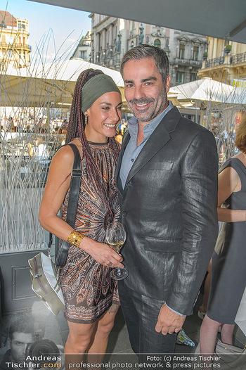 Opening - LAV - Mo 09.07.2018 - Roman RAFREIDER mit Freundin Eva-Maria BURGER72