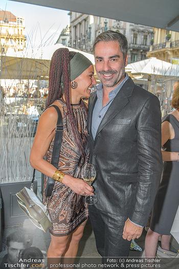 Opening - LAV - Mo 09.07.2018 - Roman RAFREIDER mit Freundin Eva-Maria BURGER73