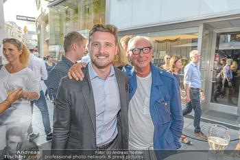 Opening - LAV - Mo 09.07.2018 - Reinhard KÖCK mit Sohn Felxi78