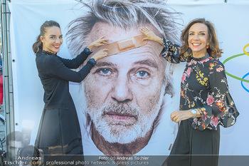 Premiere ´Der eingebildete Kranke´ - Wiener Lustspielhaus Am Hof - Mi 11.07.2018 - Familie Adi HIRSCHAL mit Ehefrau Ela und Tochter Noemi-Maddalena1