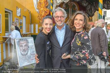 Premiere ´Der eingebildete Kranke´ - Wiener Lustspielhaus Am Hof - Mi 11.07.2018 - Familie Adi HIRSCHAL mit Ehefrau Ela und Tochter Noemi-Maddalena7