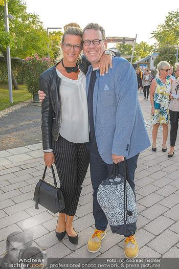 Premiere Gräfin Mariza - Seefestspiele Mörbisch - Do 12.07.2018 - Herbert STEINBÖCK mit Petra12