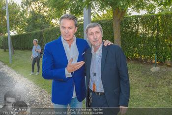 Premiere Gräfin Mariza - Seefestspiele Mörbisch - Do 12.07.2018 - Alfons HAIDER, Manfred WABA16
