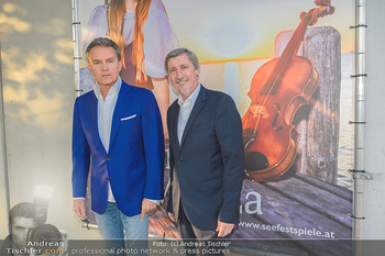 Premiere Gräfin Mariza - Seefestspiele Mörbisch - Do 12.07.2018 - Alfons HAIDER, Manfred WABA17
