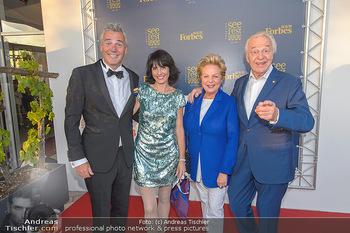 Premiere Gräfin Mariza - Seefestspiele Mörbisch - Do 12.07.2018 - Harald und Ingeborg SERAFIN, Peter EDELMANN mit Silvia37