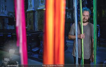 Fotoshooting Franz Josef Baur - Franziskanerkirche und Atelier - Di 17.07.2018 - Franz Josef BAUR7