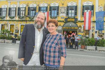 Geburtstag Pichowetz und Baumgartner - Marchfelderhof - Di 24.07.2018 - Monika BAUMGARTNER, Gerald PICHOWETZ6