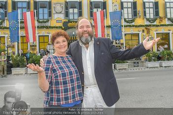 Geburtstag Pichowetz und Baumgartner - Marchfelderhof - Di 24.07.2018 - Monika BAUMGARTNER, Gerald PICHOWETZ8