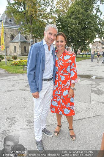 Premiere Boeing Boeing - Stadttheater Berndorf - Do 02.08.2018 - Rainer PARIASEK mit Ehefrau Eva17