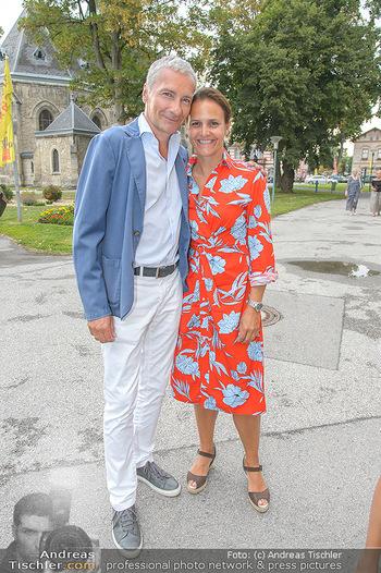 Premiere Boeing Boeing - Stadttheater Berndorf - Do 02.08.2018 - Rainer PARIASEK mit Ehefrau Eva18