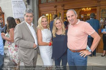 Premiere Boeing Boeing - Stadttheater Berndorf - Do 02.08.2018 - Wolfgang und Brigitte HESOUN, Franz VIEHBÖCK mit Ehefrau Vesna25