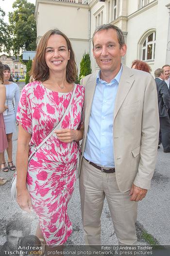 Premiere Boeing Boeing - Stadttheater Berndorf - Do 02.08.2018 - Sophie KARMASIN mit Ehemann Gerhard SCHALLER31