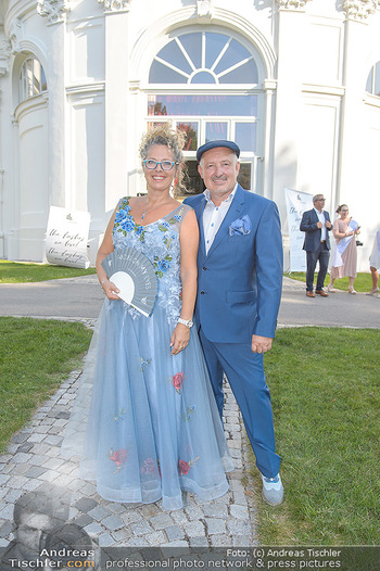 10 Jahre Luxus Lashes - Palais Schönburg - Fr 03.08.2018 - Regina FOLTYNEK mit Ehemann Henryk9