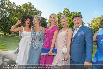 10 Jahre Luxus Lashes - Palais Schönburg - Fr 03.08.2018 - Gitta SAXX, Regina FOLTYNEK, Tanja BÜLTER, Eva HABERMANN, Henry31