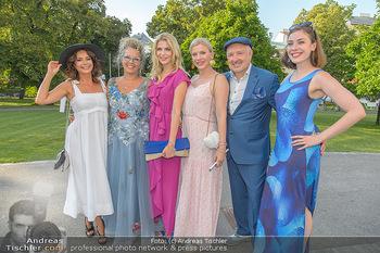 10 Jahre Luxus Lashes - Palais Schönburg - Fr 03.08.2018 - Gitta SAXX, Regina FOLTYNEK, Tanja BÜLTER, Eva HABERMANN, Henry32
