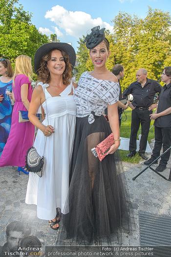 10 Jahre Luxus Lashes - Palais Schönburg - Fr 03.08.2018 - Gitta SAXX, Dany MICHALSKI39