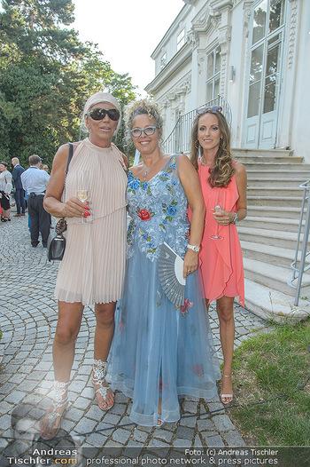10 Jahre Luxus Lashes - Palais Schönburg - Fr 03.08.2018 - Alicia und Nicki KING, Regina FOLTYNEK51