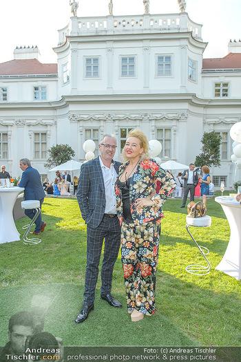 10 Jahre Luxus Lashes - Palais Schönburg - Fr 03.08.2018 - Andrea BUDAY, Ernst Georg BERGER54