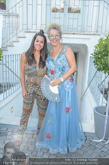 10 Jahre Luxus Lashes - Palais Schönburg - Fr 03.08.2018 - Fernanda BRANDAO, Regina FOLTYNEK85
