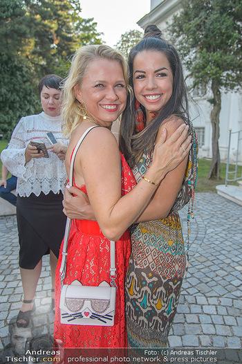 10 Jahre Luxus Lashes - Palais Schönburg - Fr 03.08.2018 - Fernanda BRANDAO, Nova MEIERHENRICH93