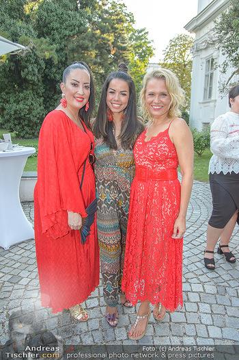 10 Jahre Luxus Lashes - Palais Schönburg - Fr 03.08.2018 - Fernanda BRANDAO, Nova MEIERHENRICH, Miyabi KAWAI96