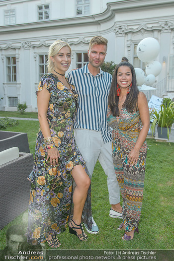 10 Jahre Luxus Lashes - Palais Schönburg - Fr 03.08.2018 - Fernanda BRANDAO, Andre BORCHERS, Verena KERTH100