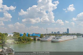 Beachvolleyball - Donauinsel Wien - Sa 04.08.2018 - Stadion auf der Donauinsel, Schulschiff3