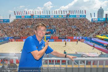 Beachvolleyball - Donauinsel Wien - Sa 04.08.2018 - Hannes JAGERHOFER5