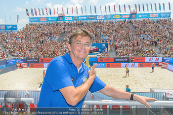Beachvolleyball - Donauinsel Wien - Sa 04.08.2018 - Hannes JAGERHOFER6