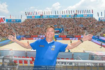 Beachvolleyball - Donauinsel Wien - Sa 04.08.2018 - Hannes JAGERHOFER7