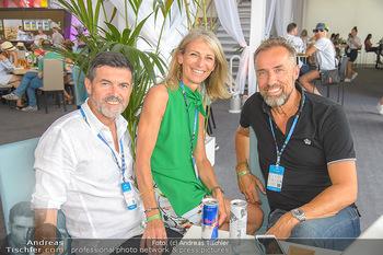 Beachvolleyball - Donauinsel Wien - Sa 04.08.2018 - Hubert Hupo und Claudia NEUPER, Robert HOHENSINN20