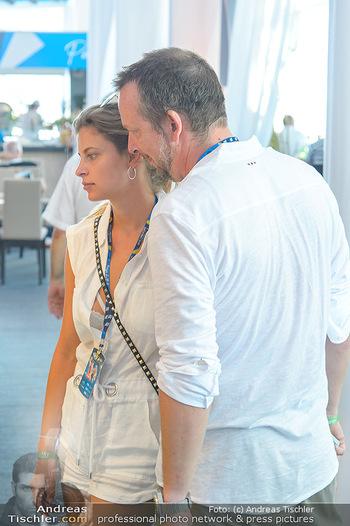 Beachvolleyball - Donauinsel Wien - Sa 04.08.2018 - Robert KRATKY mit Freundin Franziska SUMBERAZ29
