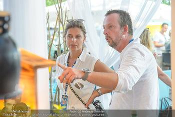 Beachvolleyball - Donauinsel Wien - Sa 04.08.2018 - Robert KRATKY mit Freundin Franziska SUMBERAZ31