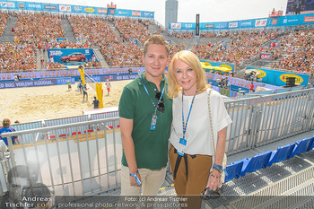 Beachvolleyball - Donauinsel Wien - So 05.08.2018 - Clemens TRISCHLER, Gerda ROGERS8