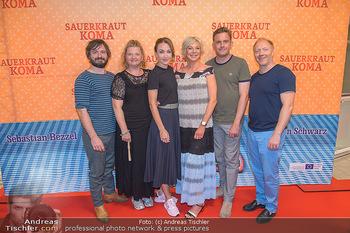 Kinopremiere Sauerkrautkoma - Village Cinemas - Do 09.08.2018 - Daniel CHRISTIENSEN, Ulrike BEIMPOLD Lisa Maria Potthoff, Rita F1
