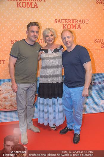Kinopremiere Sauerkrautkoma - Village Cinemas - Do 09.08.2018 - Rita FALK, Sebastian BEZZEL, Simon SCHWARZ9