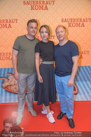 Kinopremiere Sauerkrautkoma - Village Cinemas - Do 09.08.2018 - Lisa Maria Potthoff, Sebastian BEZZEL, Simon SCHWARZ14