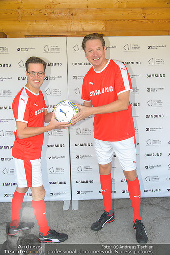 Samsung Charity Cup - Alpbach - Di 28.08.2018 - Marvin PETERS, Michael STIX20