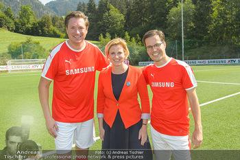 Samsung Charity Cup - Alpbach - Di 28.08.2018 - Michael STIX, Beate MEINL-REISINGER, Marvin PETERS325