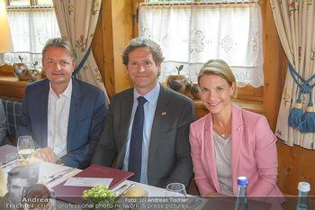 Einladung zum Lunch - Böglerhof Alpbach - Di 28.08.2018 - Trevor D. TRAINA, Kristina SPRENGER, Gerald GERSTBAUER1