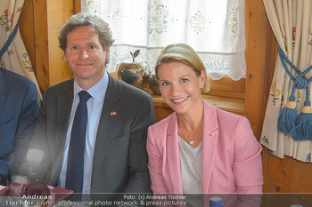 Einladung zum Lunch - Böglerhof Alpbach - Di 28.08.2018 - Trevor D. TRAINA, Kristina SPRENGER2