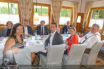 Einladung zum Lunch - Böglerhof Alpbach - Di 28.08.2018 - Christian KERN, Beate MEINL-REISINGER, Ulli SIMA, Gerald GERSTBA3