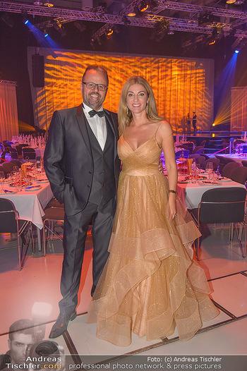 Miss Austria 2018 - Design Center Linz - Sa 01.09.2018 - Jörg RIGGER mit Ehefrau Kerstin8