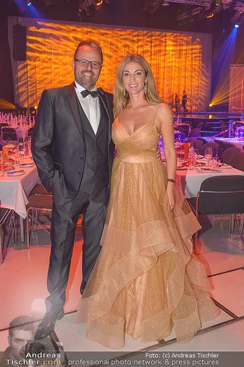 Miss Austria 2018 - Design Center Linz - Sa 01.09.2018 - Jörg RIGGER mit Ehefrau Kerstin9