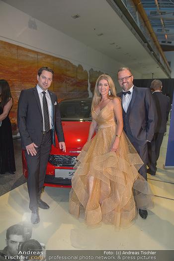 Miss Austria 2018 - Design Center Linz - Sa 01.09.2018 - Jörg RIGGER mit Ehefrau Kerstin13