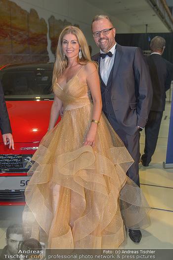 Miss Austria 2018 - Design Center Linz - Sa 01.09.2018 - Jörg RIGGER mit Ehefrau Kerstin14